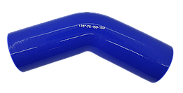 Патрубок (150 мм х 150 мм) (135` - угол) (d=75 толщ = 5 мм)