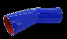 Патрубок (150 мм х 150 мм) (135` - угол) (d=85 толщ = 5 мм)
