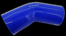 Патрубок (150 мм х 150 мм) (135` - угол) (d=100 толщ = 5 мм)