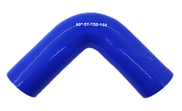 Патрубок (150 мм х 150 мм) (90` - угол) (d=50 толщ = 4 мм)