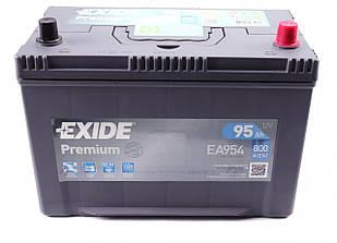 Аккумуляторная батарея 95Ah/800A (306x173x222/+R) Premium (обратная полярность) Азия EXIDE  EA954