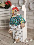 Великодня курочка Прованс, Н-38-40 см, 250 грн, декор, кошик в подарунок, фото 6
