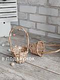 Великодня курочка Прованс, Н-38-40 см, 250 грн, декор, кошик в подарунок, фото 7
