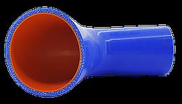 Патрубок (150 мм х 150 мм) (90` - угол) (d=65 толщ = 4 мм)