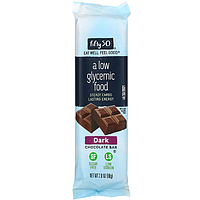 Fifty 50, Dark Chocolate Bar, 2.8 oz (80 g) шоколад без цукру для діабетиків