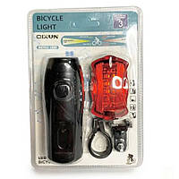 Велофонарик со стопом Bicycle Light BL-T0798