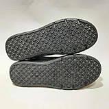 37,39,40,41 р. стильні Жіночі кросівки Fils з еко-шкіри маломірки весняні Чорні, фото 8