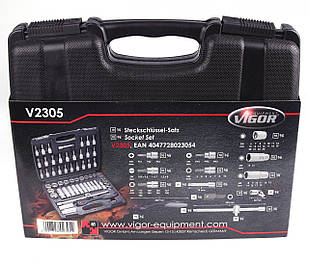 Набор ключей (61 шт)  VIGOR (Германия) V2305N