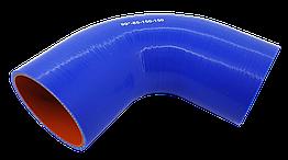 Патрубок (150 мм х 150 мм) (90` - угол)(d=85 толщ = 5 мм)