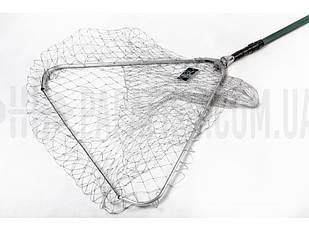 Підсаку для риби 60 см*60 см корд, з телескопічною ручкою