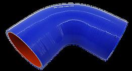 Патрубок (150 мм х 150 мм) (90` - угол) (d=100 толщ = 5 мм)
