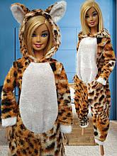 Одежда для кукол Барби - пижама кигуруми*