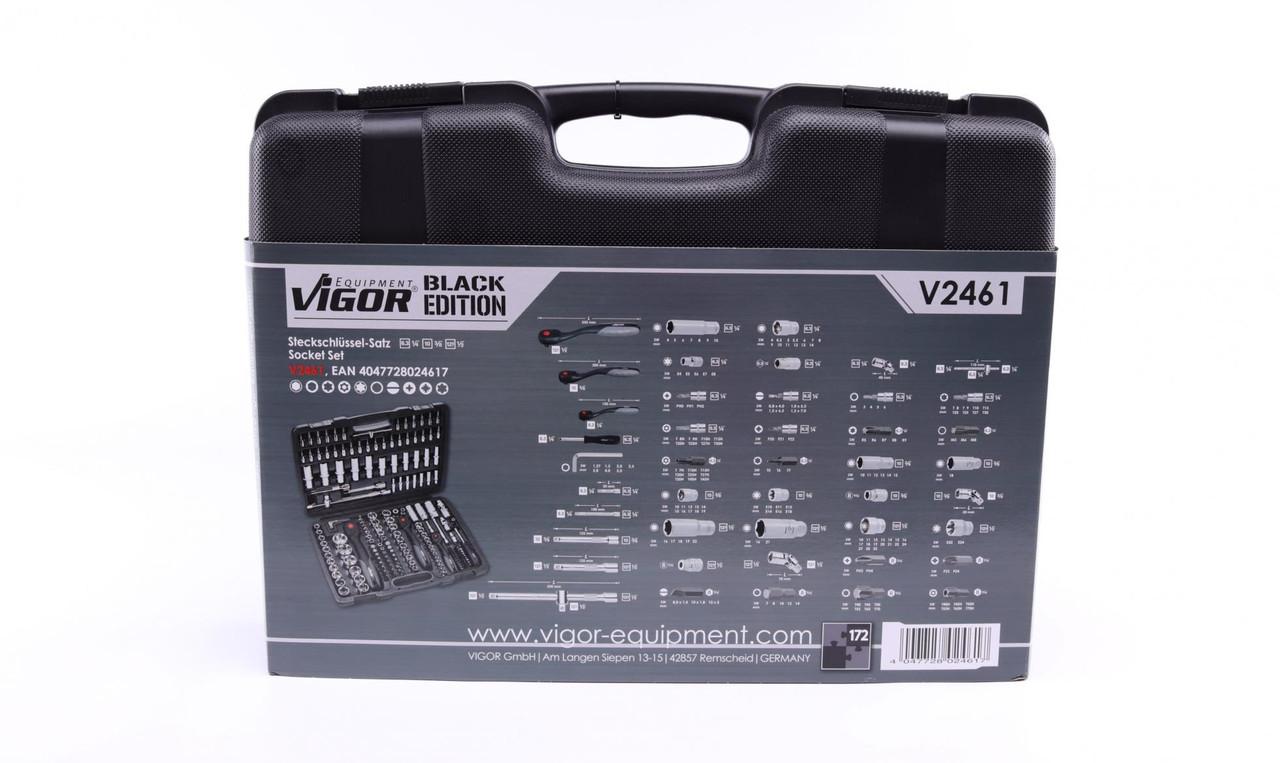 Набір ключів (172 шт) VIGOR (Німеччина) V2461N