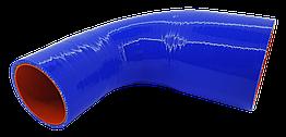 Патрубок (150 мм х 150 мм) (90` - угол) (d=60/90 толщ = 4 мм