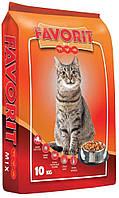Корм пан кот Фаворит Микс Польша Птица-Рыба-Говядина для кошек 10 кг
