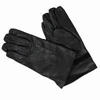 Перчатки чёрные кожаные Бельгия