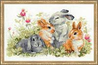 """Набор для вышивания Риолис  """" Забавные крольчата"""""""