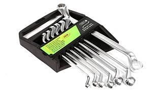 Набор ключей коленчатых 12-гранных (7 шт) (6x7-18x19mm) JBM (Испания) 50562