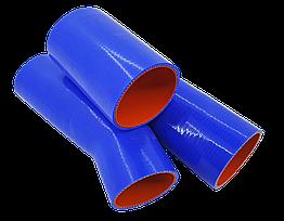 Патрубки радиатора КамАЗ (к-т 3 шт) (СиликоН)
