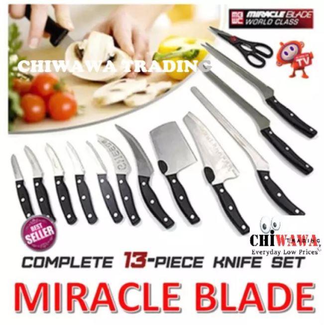 Набір ножів 13 в 1 Mibacle Blade