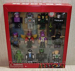 Фигурки героев компьютерной игры Roblox JL19070 Роблокс - 12 героев, аксессуары