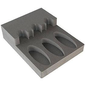Комплект держатель ствола FDO3 + ложемент под приклад DFDO3 на три ствола (ружья) с оптикой