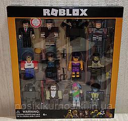Фигурки героев компьютерной игры Roblox P20050 Роблокс - 12 героев, аксессуары