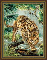 """Набор для вышивания Риолис  """" Хозяин джунглей"""""""