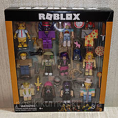 Фигурки героев компьютерной игры Roblox P20051 Роблокс - 12 героев, аксессуары
