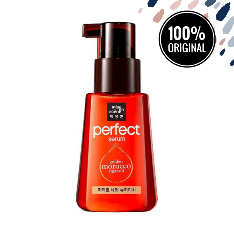 Интенсивное масло для волос MISE EN SCENE Golden Morocco Argan Oil Perfect Serum Super Rich, 80 мл