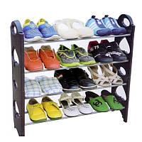 Полка для обуви Stackable Shoe Rack стойка органайзер для обуви(12 пар)