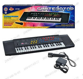 Пианино SK-3738? с микрофоном, запись, 37 клавиш.