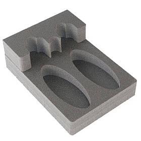 Комплект держатель ствола FD2 + ложемент под приклад DFD2 на два ствола (ружья)