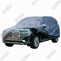 Чехол тент автомобильный на основе Джип M ELEGANT 100261 440x185x145 MAXI SUV PEVA + сумка замок ушки зеркал