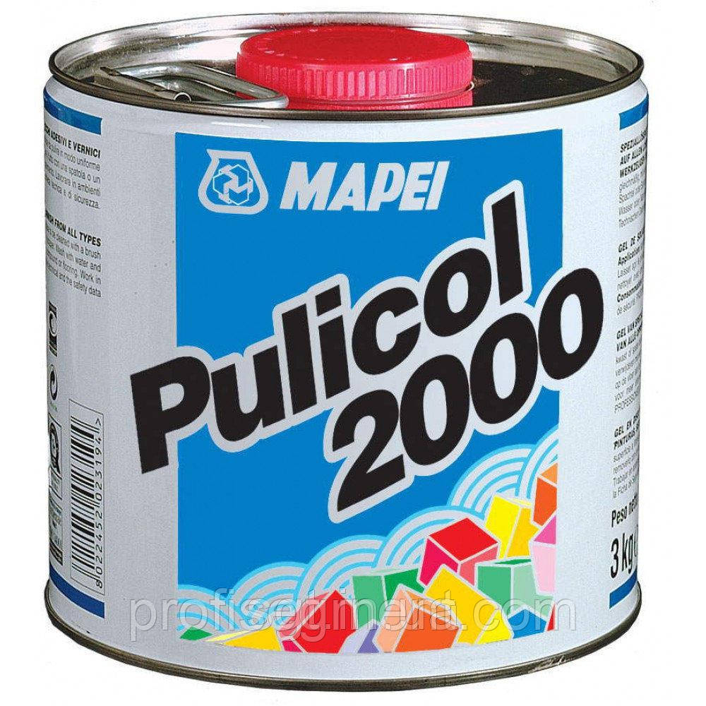 Гель для видалення залишків клеїв і лаків Mapei Pulicol 2000 2.5 kg (Пуликол 2000)Харків