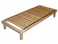 Каркас кровати деревянный ортопедический с ножками,