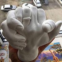 3D слепок рук набор для пары
