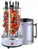 Электрошашлычница домашнее барбекю гриль Domotec BBQ MS-7782 (белая)