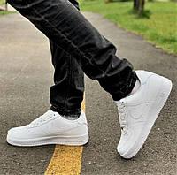 Кроссовки Nike Air Force Total White Белые Найк Мужские 42,44,45 размеры
