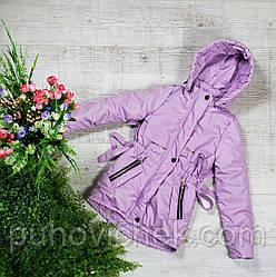 Детская куртка для девочки весна осень размер 134-152