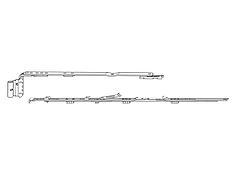 Ножницы Roto 411-600 (левые)