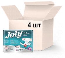 Упаковка подгузников для взрослых Joly 4 Extra Large 4 пачки х 30 шт (8690536805198)