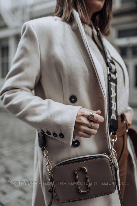 Сумка The Marc Jacobs Snapshot bag Original (M0014146064) French Grey Multi (Французький сірий)