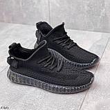 Кросівки чорні жіночі / молодіжні текстиль, фото 2