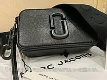 Сумка женская The Marc Jacobs Snapshot DTM Small Bag Original (M0014867-001) Black, фото 2