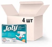 Упаковка подгузников для взрослых Joly 3 Large 4 пачки х 30 шт (8690536804030), фото 1