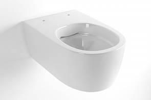 Унитаз Excellent подвесной безобидковий Doto Pure Rim с сиденьем Soft Close 485 * 365
