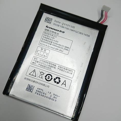 Акумулятор Lenovo P780 IdeaPhone / BL211 (4100 mAh) оригінал б.у, фото 2
