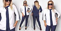 Стильный женский костюм-двойка батал р.46-60 Ajiotaje XL