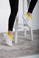 Красивые Женские кроссовки 41 размер Белые 25,5 см